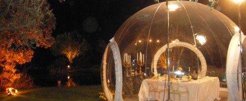 La CristalBubble sur M6 « Un diner presque parfait »
