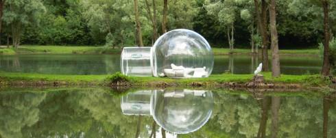 Côte Jardin, France 3, CristalBubble ou comment admirer les étoiles en tout confort