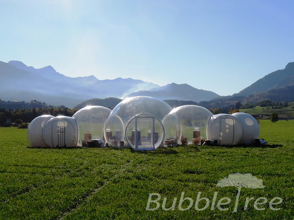 Elite Traveler The Most Unique Hotel Rooms Bubble Tree