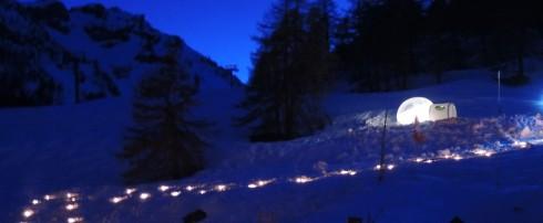 Une idée pour buller dans les montagnes