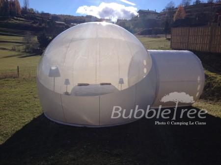 BubbleRoom TPU - Camping le cians