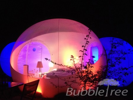 BubbleSuite night