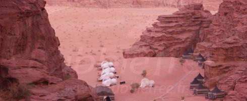 BubbleTree Luxury Camp : Mille et une étoiles au cœur de la Jordanie