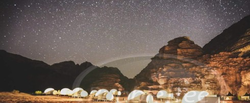 BubbleTree Luxury Camp en Jordanie : reportage Télématin