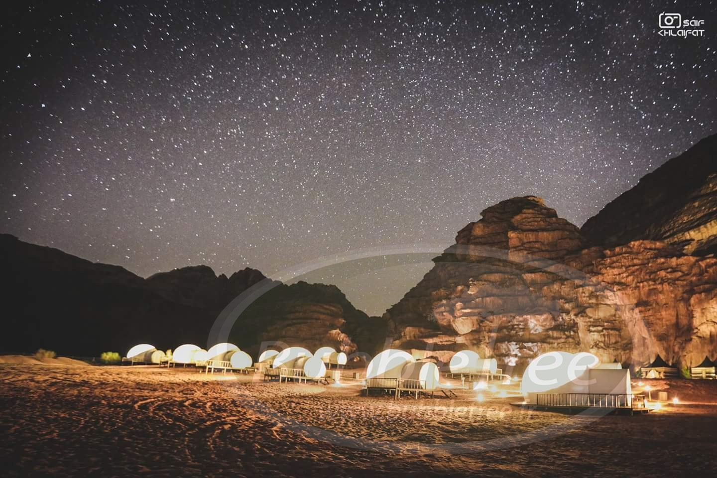 cute outlet store sells BubbleTree Luxury Camp: One thousand and one stars in the ...