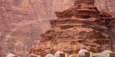 BubbleSuites by BubbleTree, Pierre Stéphane Dumas, in the Wadi Rum desert