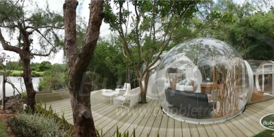 BubbleTree Bubble Lodge Maurice Pierre Stephane Dumas
