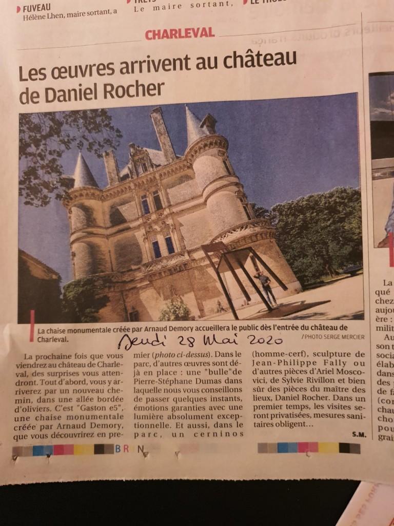 BubbleTree au Chateau de Charleval