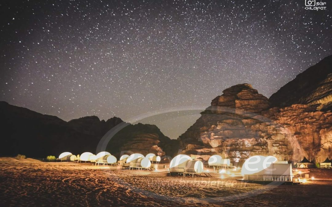 BubbleTree Luxury Camp: One thousand and one stars in the heart of Jordan
