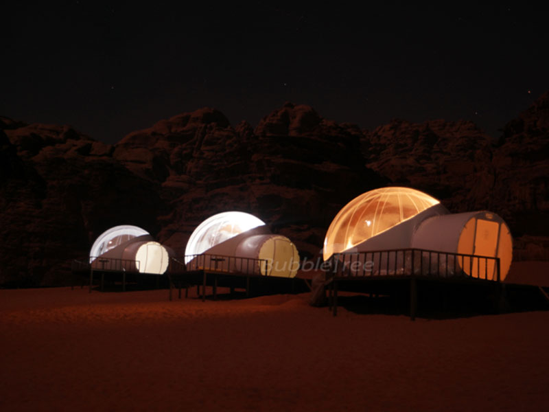 BubbleTree Luxury Camp : the glamping in the desert !