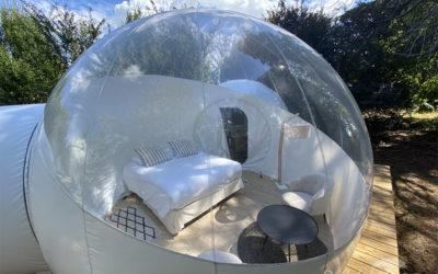 BubbleTree dans l'« Accueillir magazine »: Les chambres d'hôtes à forte rentabilité et sans impact sur l'environnement